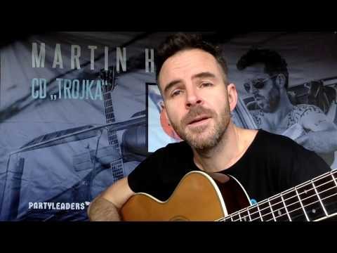 Martin Hrubý zve na koncert v Kamenáči
